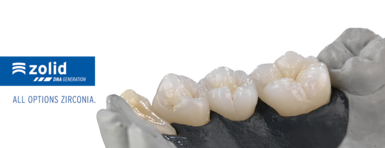 Zirconia for aesthetic restorations for dental laboratories